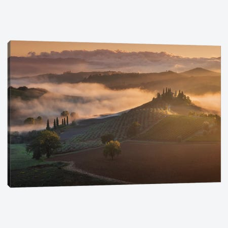 Spring In Tuscany XVII Canvas Print #KRD113} by Daniel Kordan Canvas Print