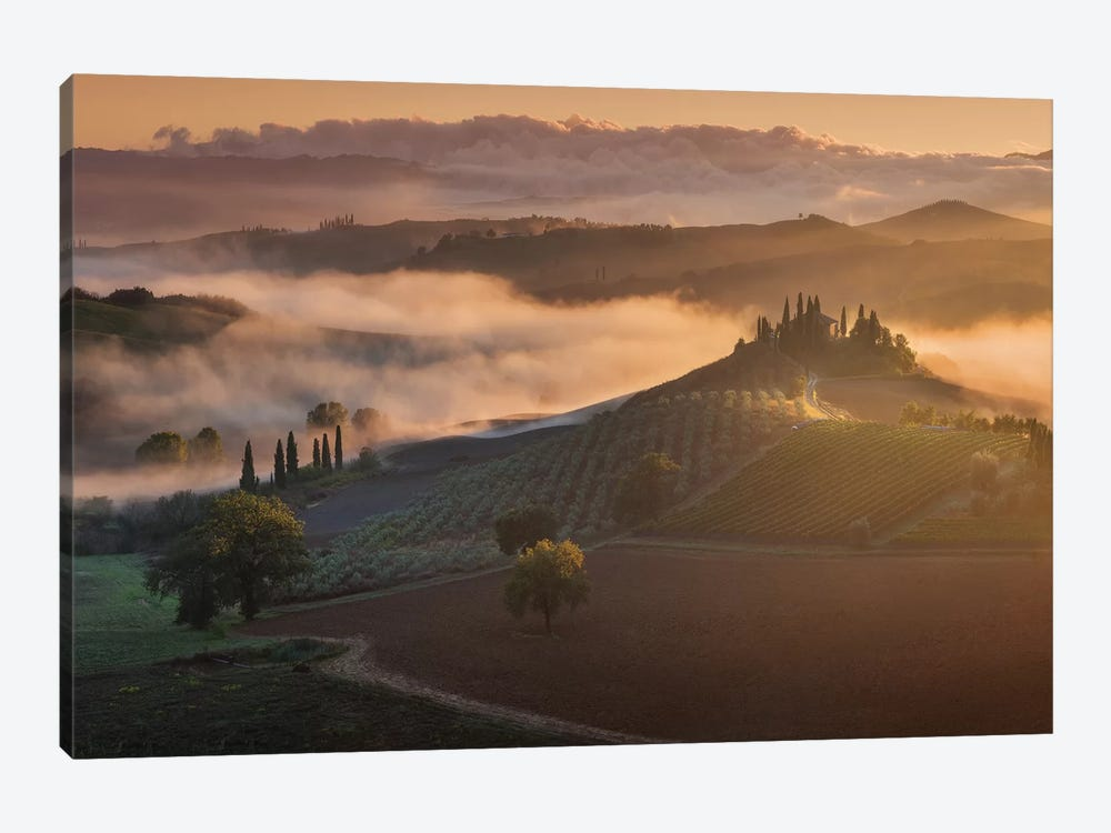 Spring In Tuscany XVII 1-piece Canvas Artwork