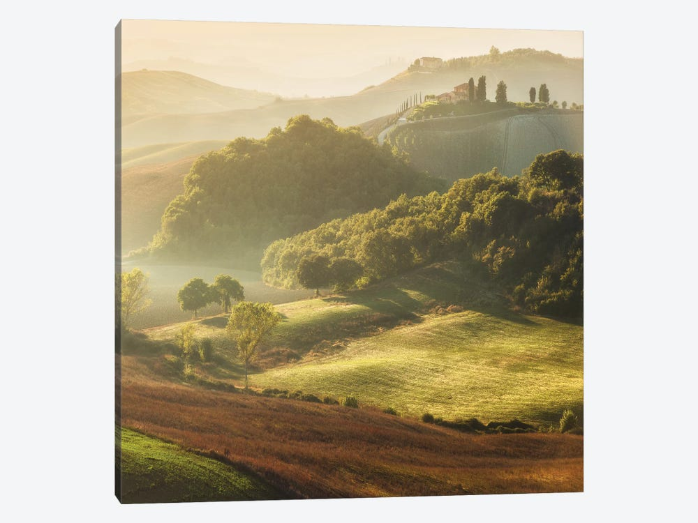 Spring In Tuscany XVIII by Daniel Kordan 1-piece Canvas Print