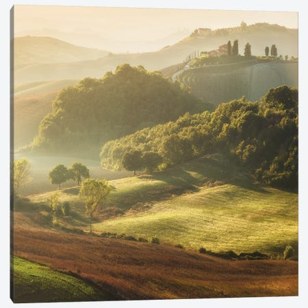 Spring In Tuscany XVIII Canvas Print #KRD114} by Daniel Kordan Canvas Art