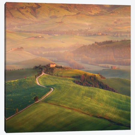 Spring In Tuscany XIX Canvas Print #KRD115} by Daniel Kordan Canvas Artwork