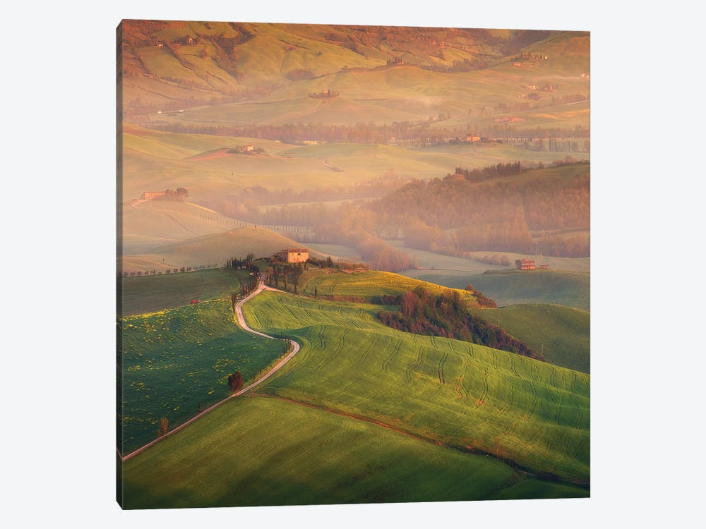 Spring In Tuscany XIX 1-piece Canvas Art