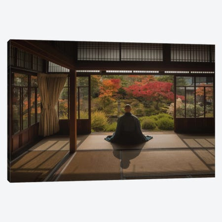 Autumn In Japan XI Canvas Print #KRD11} by Daniel Kordan Art Print