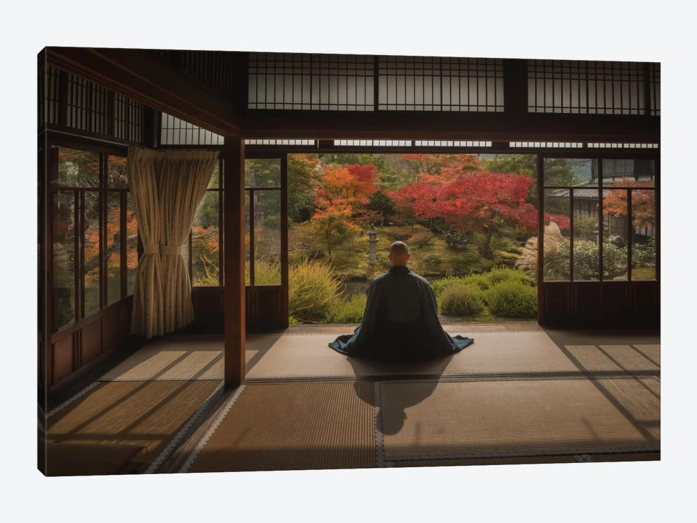 Autumn In Japan XI by Daniel Kordan 1-piece Canvas Print