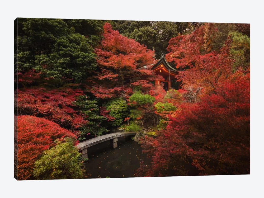 Autumn In Japan XII by Daniel Kordan 1-piece Canvas Artwork