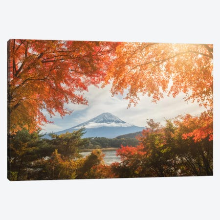 Autumn In Japan XIII Canvas Print #KRD13} by Daniel Kordan Canvas Print