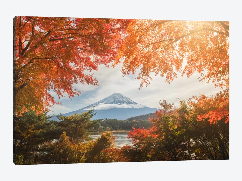 Autumn In Japan XIII 1-piece Canvas Print