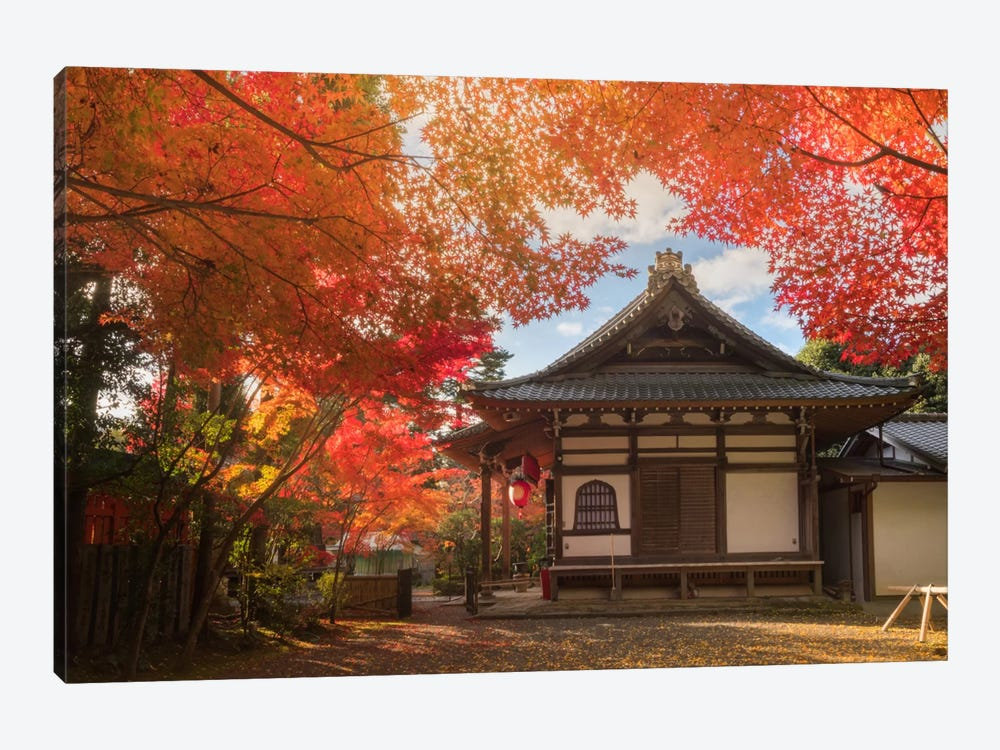Autumn In Japan XIV 1-piece Canvas Wall Art