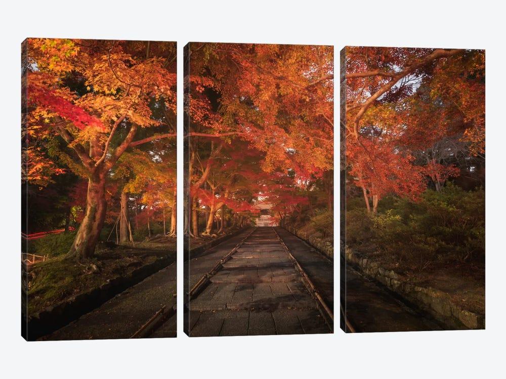 Autumn In Japan XV by Daniel Kordan 3-piece Canvas Print