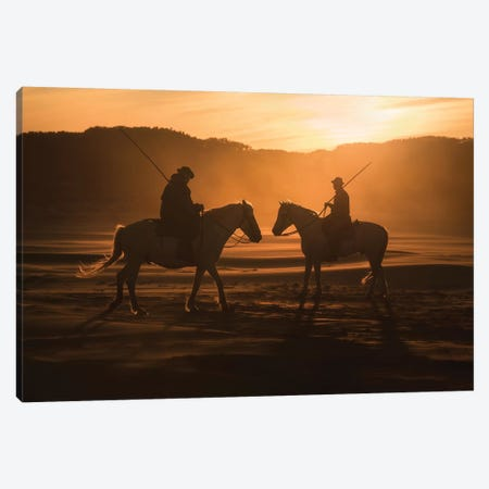 White Angels Of Camargue XLIII Canvas Print #KRD160} by Daniel Kordan Canvas Artwork