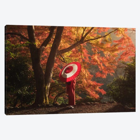 Autumn In Japan XVI Canvas Print #KRD16} by Daniel Kordan Canvas Artwork