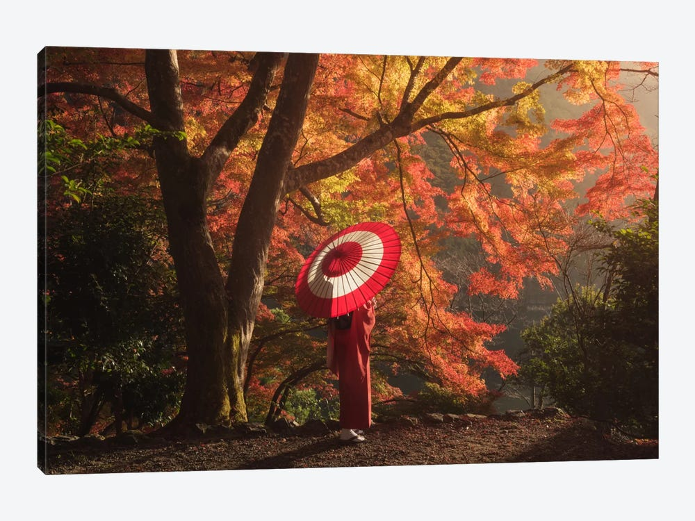Autumn In Japan XVI by Daniel Kordan 1-piece Canvas Wall Art