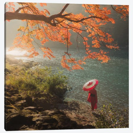 Autumn In Japan XVII Canvas Print #KRD17} by Daniel Kordan Canvas Art