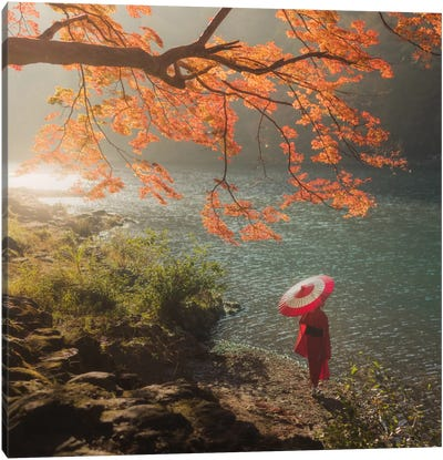 Autumn In Japan XVII Canvas Art Print