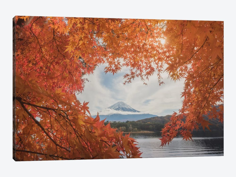 Autumn In Japan XXI by Daniel Kordan 1-piece Canvas Wall Art