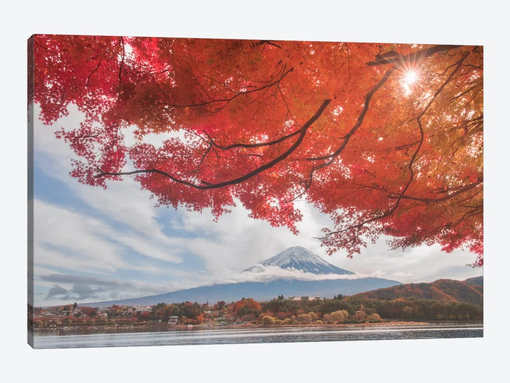Autumn In Japan XXV by Daniel Kordan 1-piece Canvas Art