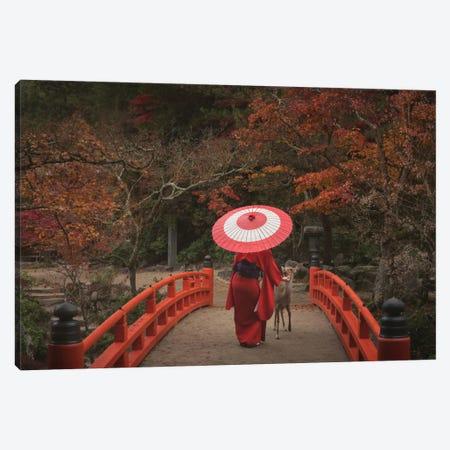 Autumn In Japan XXVI 3-Piece Canvas #KRD26} by Daniel Kordan Canvas Print