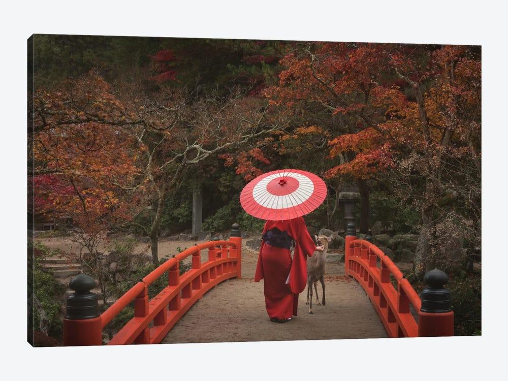 Autumn In Japan XXVI by Daniel Kordan 1-piece Canvas Print