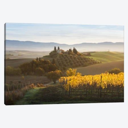 Autumn In Tuscany I Canvas Print #KRD30} by Daniel Kordan Art Print