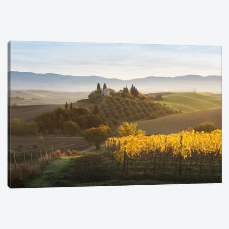 Autumn In Tuscany I Canvas Print #KRD30} by Daniel Kordan Art Print