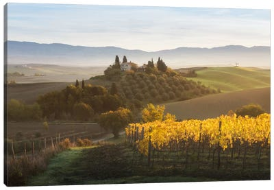 Autumn In Tuscany I Canvas Art Print