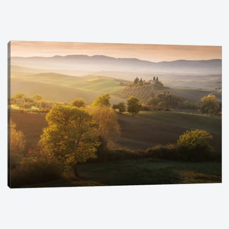 Autumn In Tuscany II Canvas Print #KRD31} by Daniel Kordan Canvas Art Print