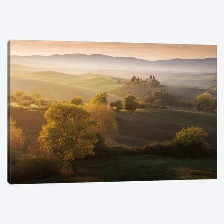 Autumn In Tuscany II Canvas Print #KRD31} by Daniel Kordan Canvas Art Print