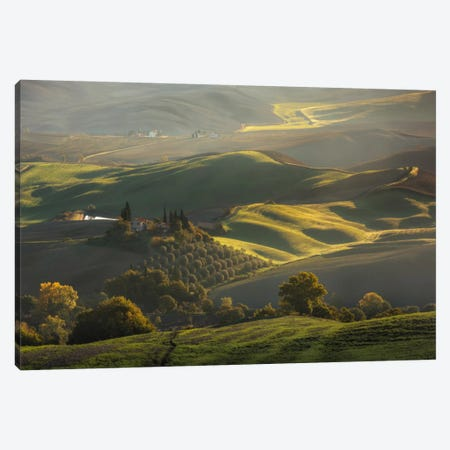 Autumn In Tuscany III Canvas Print #KRD32} by Daniel Kordan Canvas Print