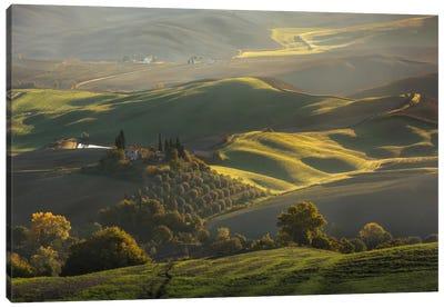 Autumn In Tuscany III Canvas Art Print