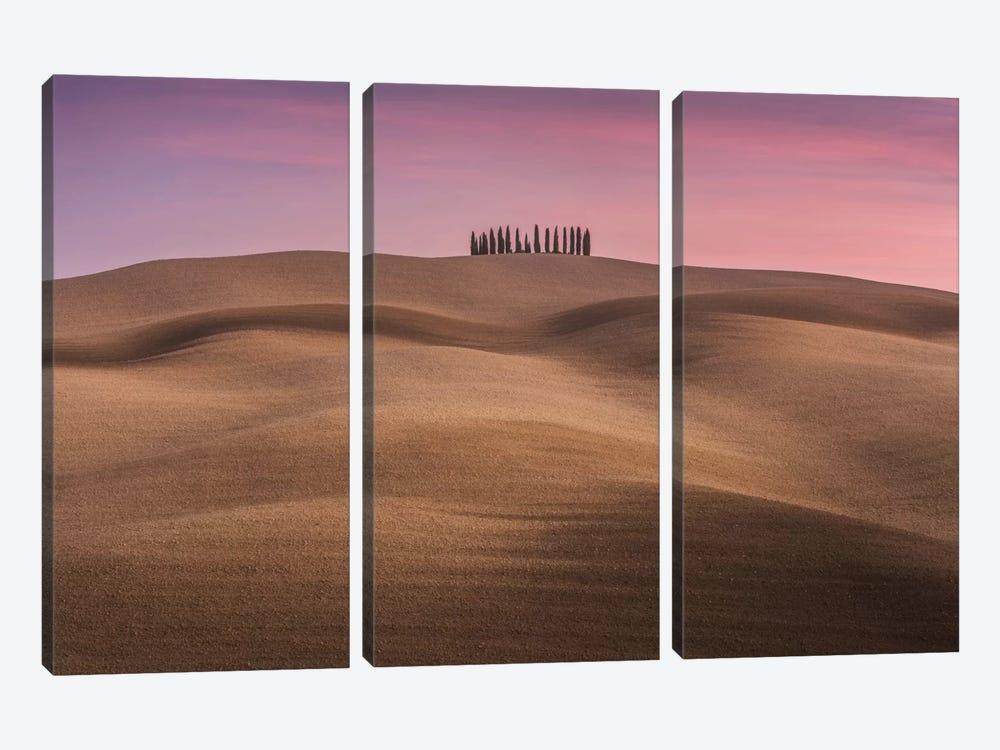 Autumn In Tuscany IV by Daniel Kordan 3-piece Canvas Art Print