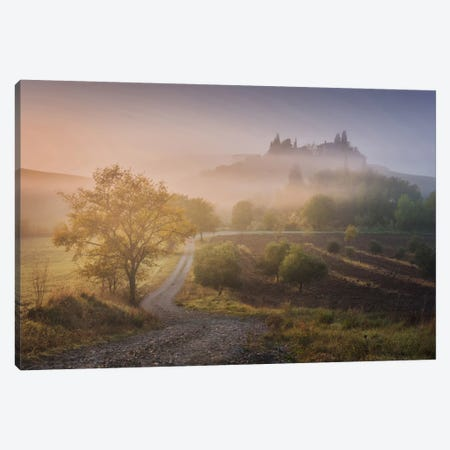 Autumn In Tuscany VI Canvas Print #KRD35} by Daniel Kordan Canvas Art