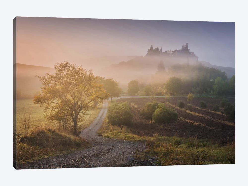 Autumn In Tuscany VI by Daniel Kordan 1-piece Canvas Print