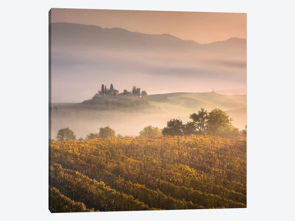 Autumn In Tuscany VII by Daniel Kordan 1-piece Canvas Art