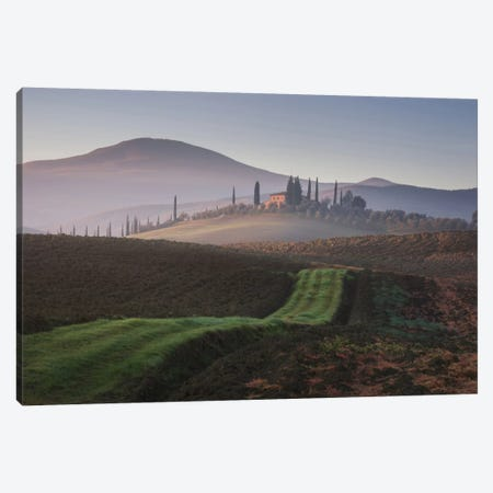 Autumn In Tuscany VIII Canvas Print #KRD37} by Daniel Kordan Canvas Wall Art