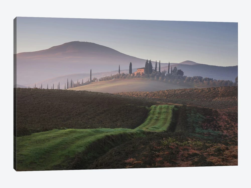 Autumn In Tuscany VIII by Daniel Kordan 1-piece Canvas Print