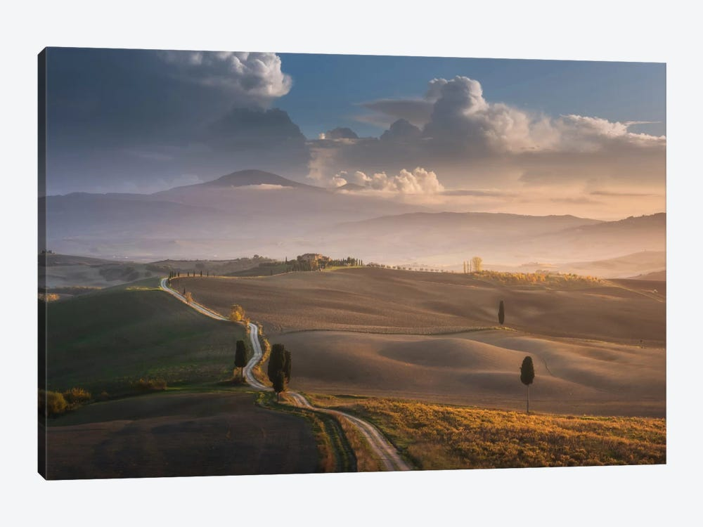 Autumn In Tuscany IX by Daniel Kordan 1-piece Canvas Wall Art
