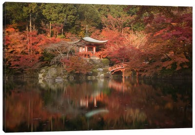 Autumn In Japan III Canvas Art Print
