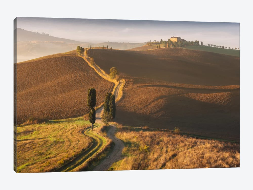 Autumn In Tuscany XI 1-piece Canvas Art Print
