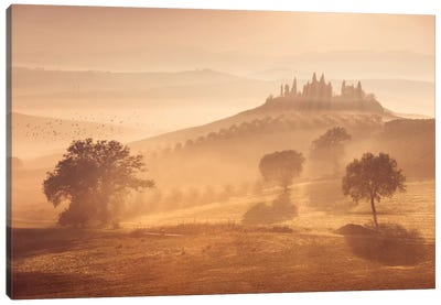 Autumn In Tuscany XII Canvas Art Print