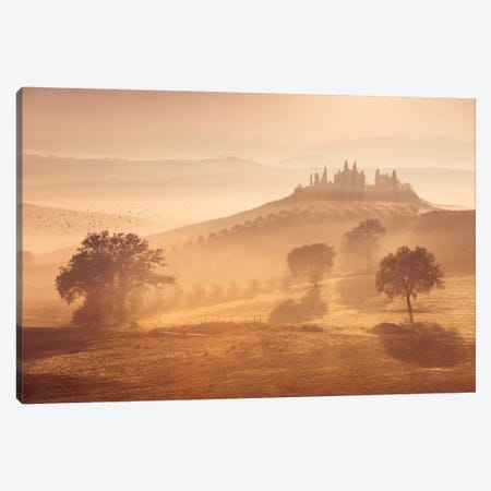 Autumn In Tuscany XII Canvas Print #KRD41} by Daniel Kordan Canvas Artwork