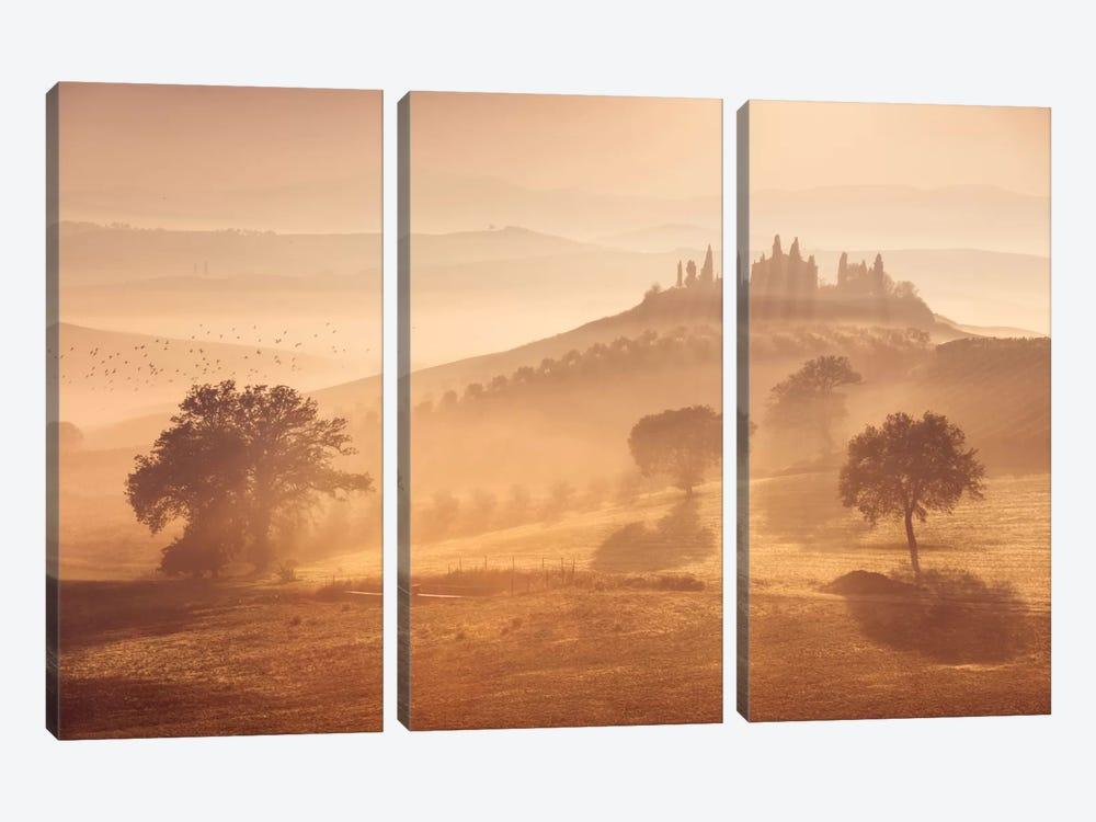Autumn In Tuscany XII by Daniel Kordan 3-piece Canvas Art