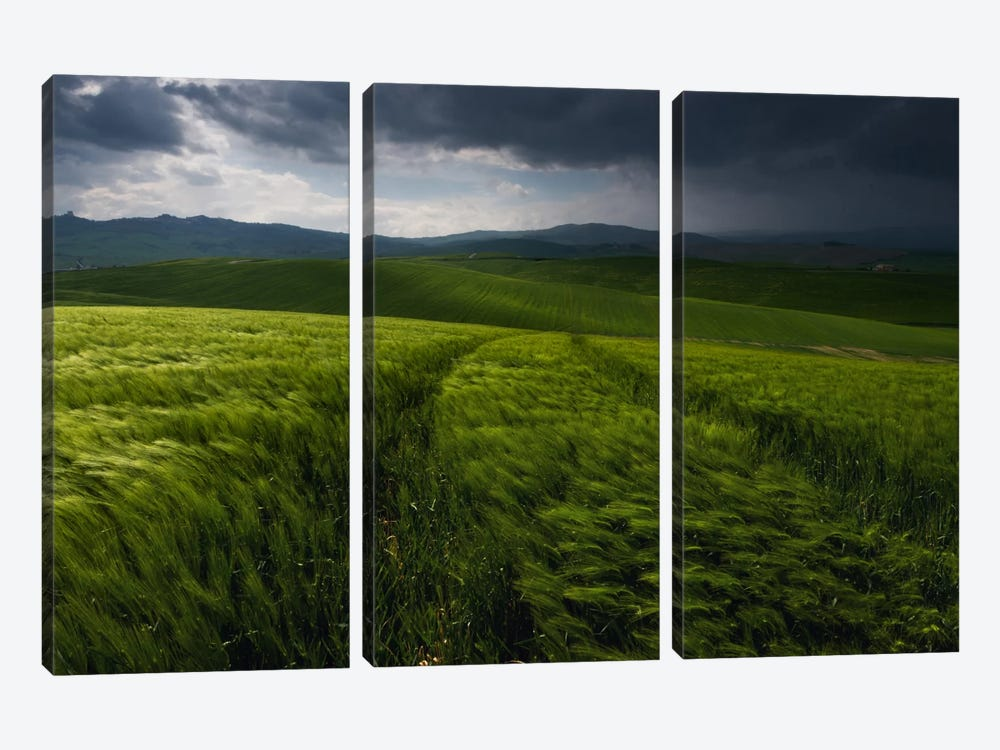 Before The Tuscany Storm by Daniel Kordan 3-piece Canvas Artwork