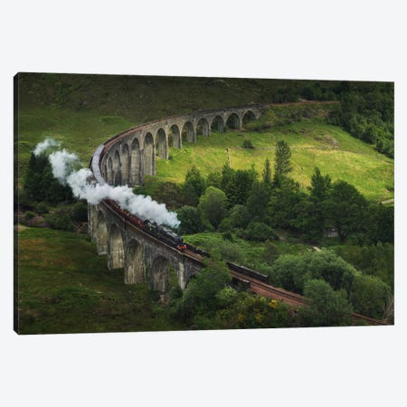 Hogwarts Express, Scotland Canvas Print #KRD45} by Daniel Kordan Canvas Art Print