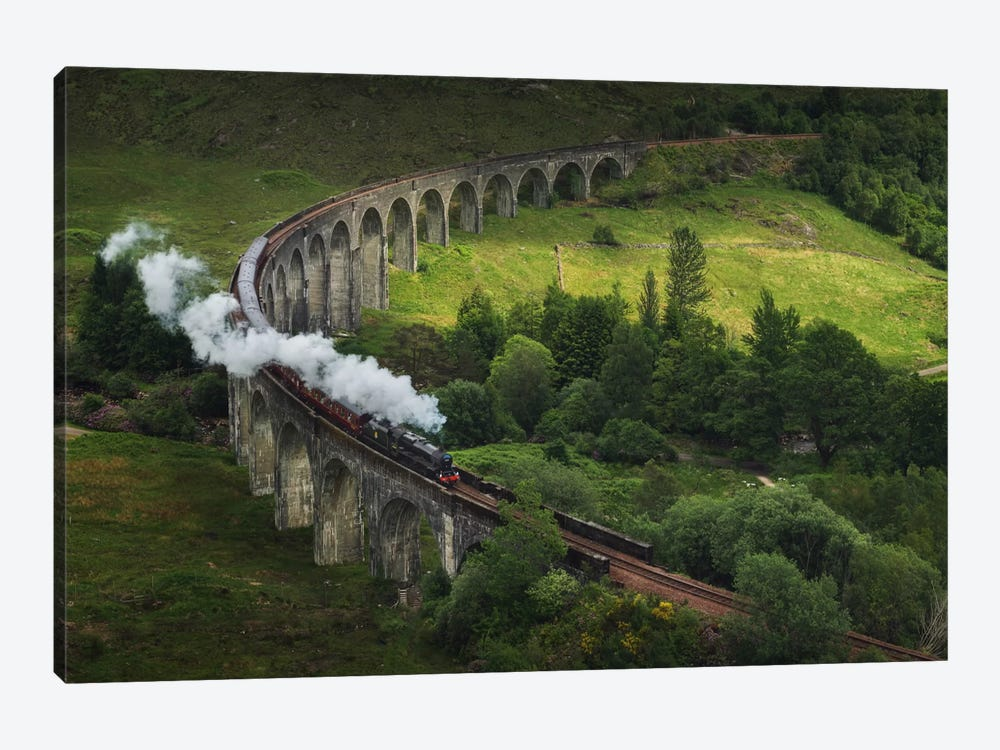Hogwarts Express, Scotland by Daniel Kordan 1-piece Canvas Art
