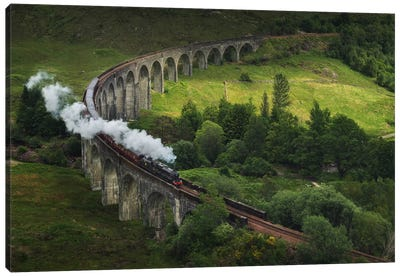 Hogwarts Express, Scotland Canvas Art Print