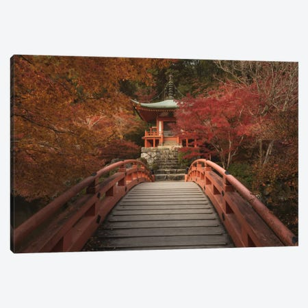 Autumn In Japan IV Canvas Print #KRD4} by Daniel Kordan Art Print