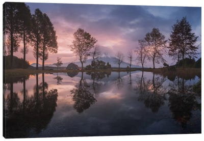 Mount Fuji-San, Japan Canvas Art Print