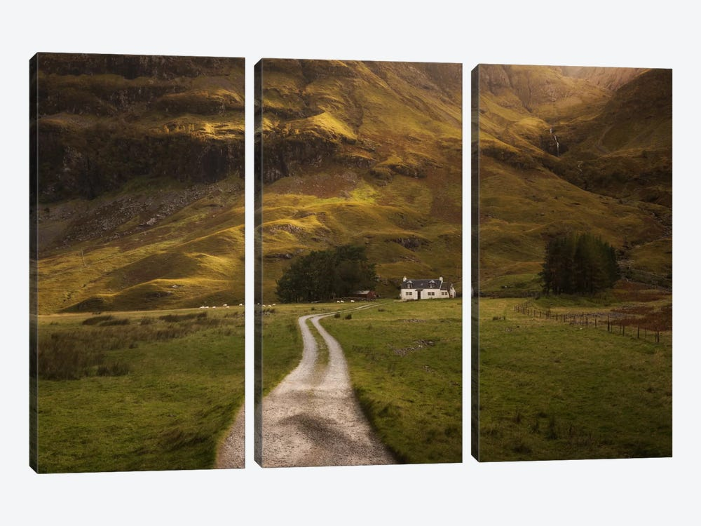 Scotland I by Daniel Kordan 3-piece Canvas Art