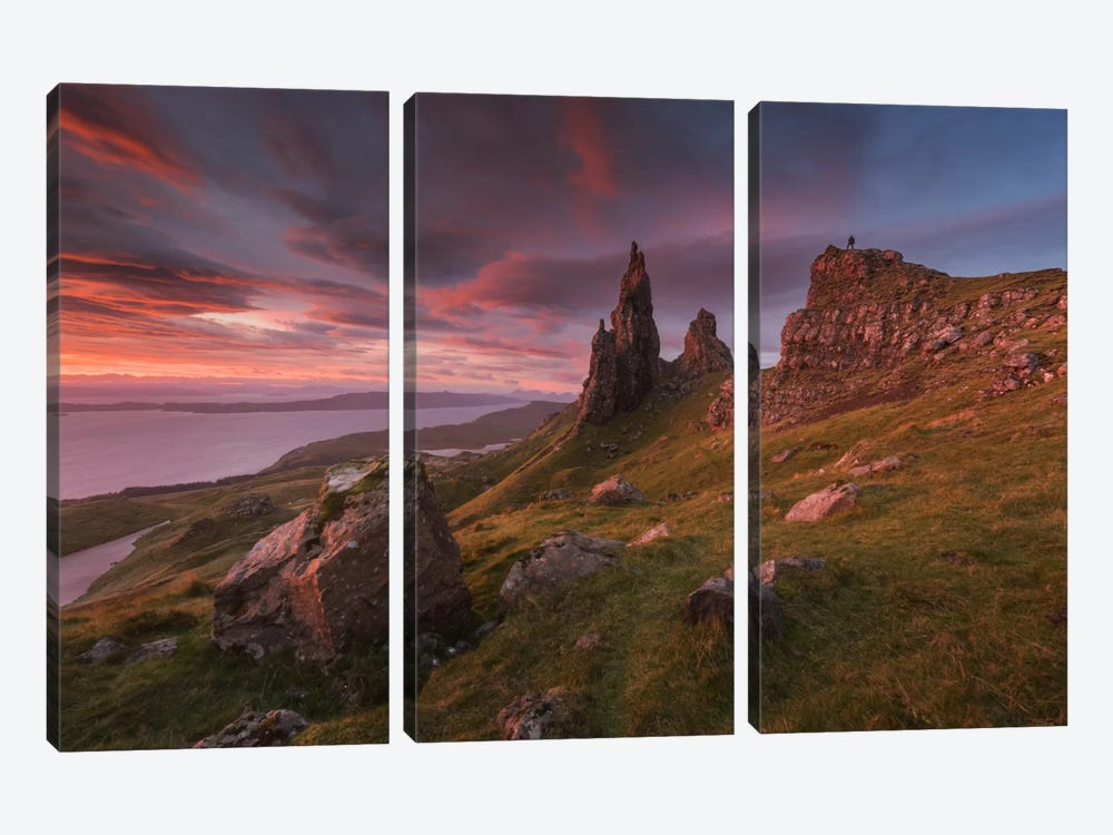 Scotland IV by Daniel Kordan 3-piece Canvas Print