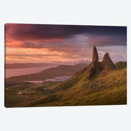 Scotland V Canvas Print #KRD58} by Daniel Kordan Art Print